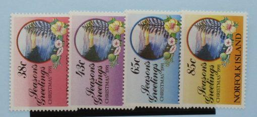 Norfolk Islands Stamps, 1991, SG518-521, Mint 5