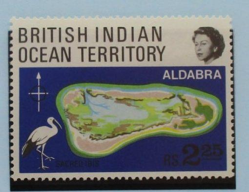 British Indian Ocean Territory Stamps, 1969, SG31, Mint 5