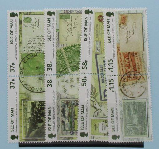 Isle of Man Stamps, 2011, SG1682a, SG1864a, SG1686a, SG1688a, Mint 5