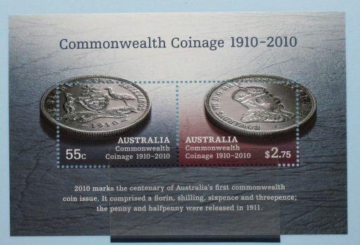 Australia Stamps, 2010, MS3352, Mint 5