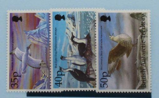 British Antarctic Territory Stamps, 1998, SG296-298, Mint 5