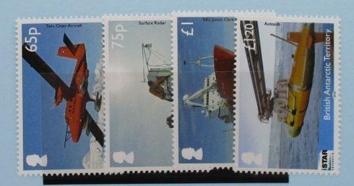 British Antarctic Territory Stamps, 2014, SG650-653, Mint 3