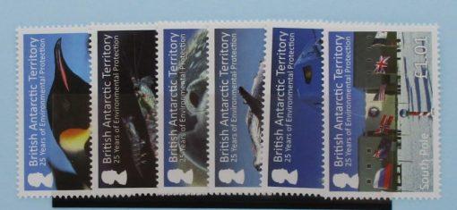 British Antarctic Territory Stamps, 2016, SG685-690, Mint 5