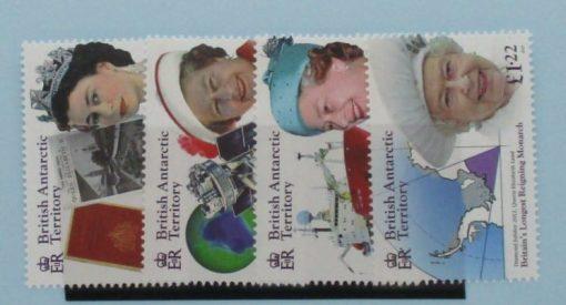 British Antarctic Territory Stamps, 2015, SG659-662, Mint 5