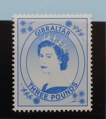 Gibraltar Stamps, 1999-2001, SG870, Mint 5