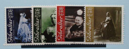 Gibraltar Stamps, 2001, SG956-959, Mint 5