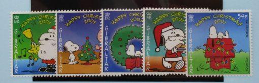 Gibraltar Stamps, 2001, SG989-993, Mint 5