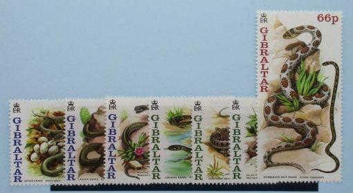 Gibraltar Stamps, 2001, SG960-966, Mint 5