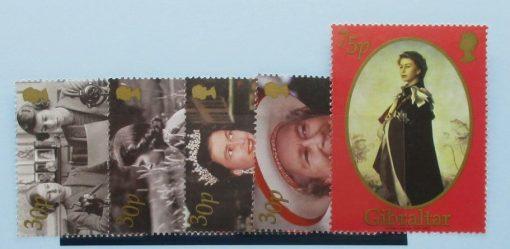 Gibraltar Stamps, 2002, SG996-1000, Mint 5