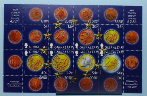 Gibraltar Stamps, 2002, MS995, Mint 5