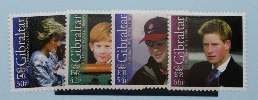 Gibraltar Stamps, 2002, SG1020-1023, Mint 5