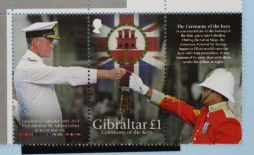 Gibraltar Stamps, 2013, SG1544, Mint 5