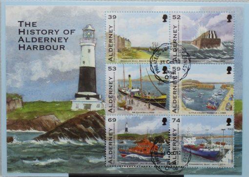 Alderney Stamps, 2012, MSA473, Used 3