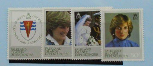 Falkland Island Dependencies Stamps, 1982, SG108-111, Mint 3