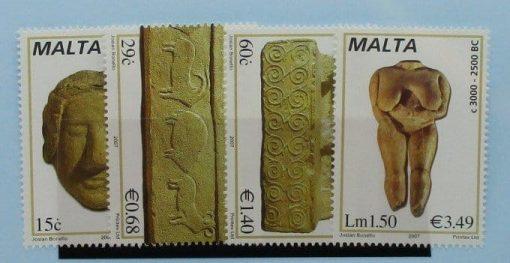 Malta Stamps, 2007, SG1515-1518, Mint 5