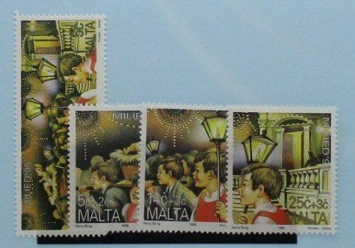 Malta Stamps, 1995, SG1004-1007, Mint 5