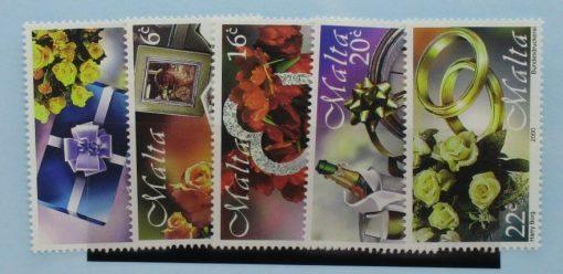 Malta Stamps, 2000, SG1161-1165, Mint 5
