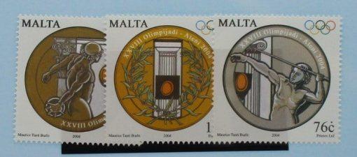 Malta Stamps, 2004, SG1384-1386, Mint 5