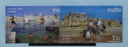 Malta Stamps, 2004, SG1373-1374, Mint 5