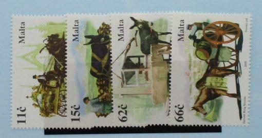 Malta Stamps, 2005, SG1441-1444, Mint 3