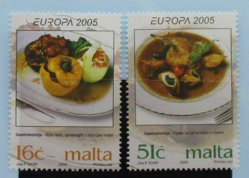 Malta Stamps, 2005, SG1428-1429, Mint 5