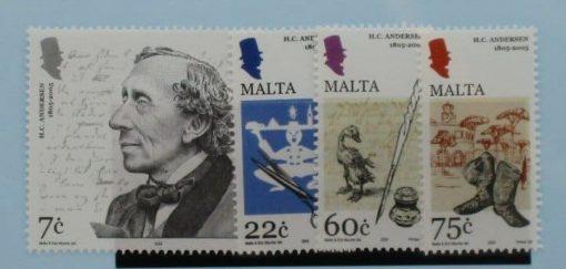 Malta Stamps, 2005, SG1407-1410, Mint 5