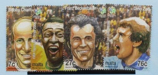 Malta Stamps, 2006, SG1484-1487, Mint 5