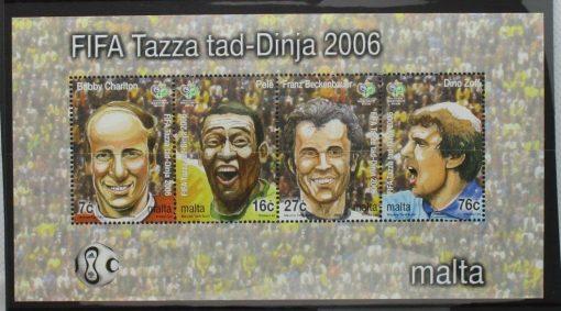 Malta Stamps, 2006, MS1488, Mint 5