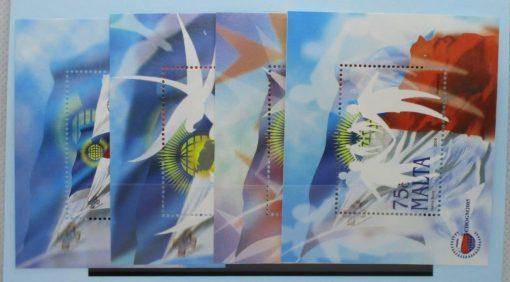 Malta Stamps, 2005, MS1454, Mint 5