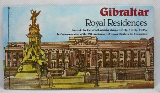 Gibraltar Stamps, 1978, SB5, Mint 5
