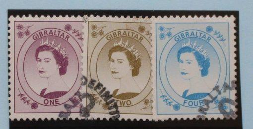 Gibraltar Stamps, 1999-2001, SG857-859, Used. 5
