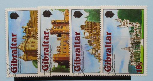 Gibraltar Stamps, 1978, SG400-403, Used 5