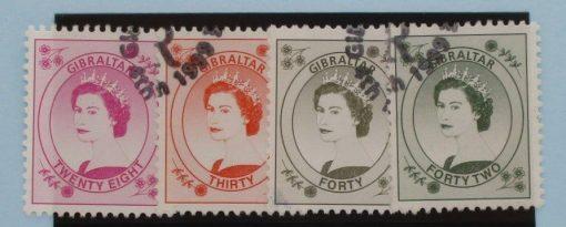 Gibraltar Stamps, 1999-2001, SG864-867, Used 5