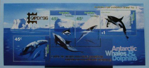 Australian Antarctic Territory Stamps, 1995, MS112, Mint 3