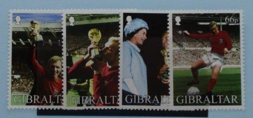 Gibraltar Stamps, 2002, SG1006-1009, Mint 5