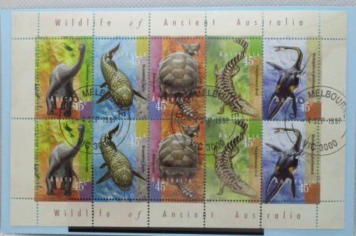 Australia Stamps, 1997, SG1708-1712, Mint 3