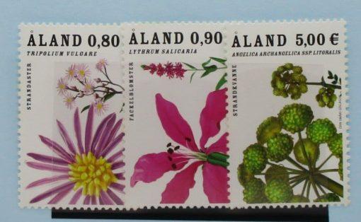 Aland Islands Stamps, 2007, SG289-291, Mint 5