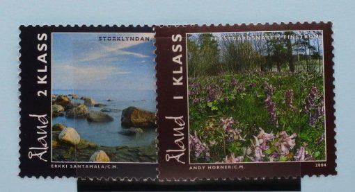 Aland Islands Stamps, 2004, SG255-256, Mint 5