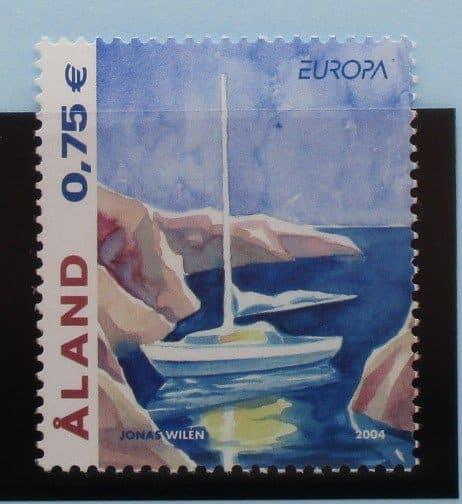 Aland Islands Stamps, 2004, SG253, Mint 5