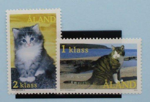 Aland Islands Stamps, 2003, SG227-228, Mint 5