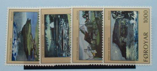 Faroe Islands Stamps, 1990, SG200-203, Mint 5