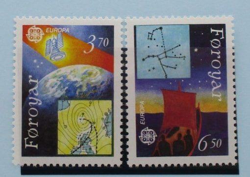 Faroe Islands Stamps, 1991, SG210-211, Mint 5