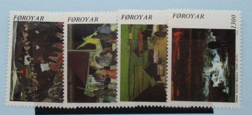 Faroe Islands Stamps, 1991, SG216-219, Mint 5