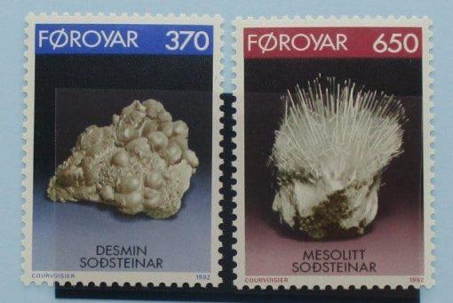 Faroe Islands Stamps, 1992, SG229-230, Mint 5