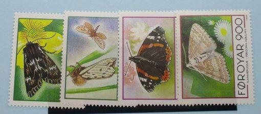 Faroe Islands Stamps, 1993, SG245-248, Mint 5