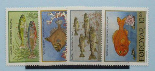 Faroe Islands Stamps, 1993, SG249-252, Mint 5