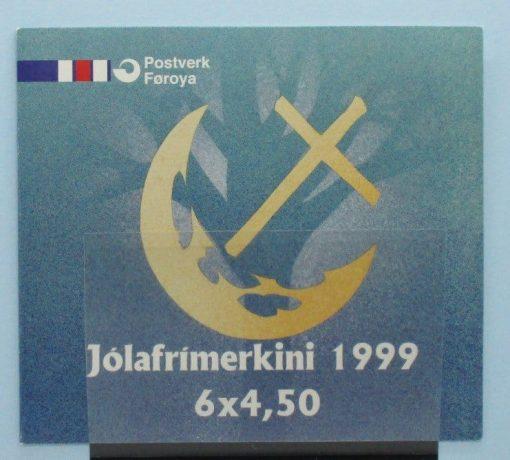 Faroe Islands Stamps, 1999, SB19, Mint 5