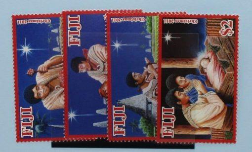 Fiji Stamps, 2011, SG1467-1470, Mint 3