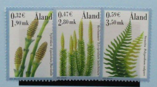 Aland Islands Stamps, 2001, SG188-190, Mint 5