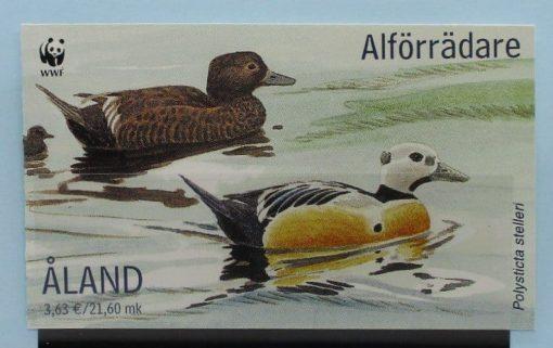 Aland Islands Stamps, 2001, SB9, Mint 5